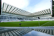 A general view of St James' Park ahead of the Premier League match between Newcastle United and Bournemouth at St. James's Park, Newcastle, England on 9 November 2019.