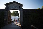 Portón de Campo - the City Gate and wooden drawbridge