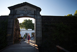 Portón de Campo - the City Gate and wooden drawbridge