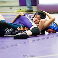 01-15-15 Berryville Wrestling vs. Harber JV. & Heritage JV