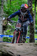WASHAM Caroline (USA) at the Mountain Bike World Championships in Mont-Sainte-Anne, Canada.