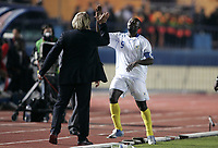Fotball<br /> Foto: Dppi/Digitalsport<br /> NORWAY ONLY<br /> <br /> FOOTBALL - AFRICAN CUP OF NATIONS 2006 - FIRST ROUND - GROUP B - 060121 - TOGO v RC CONGO<br /> <br /> JOY TRESOR LUA LUA (CON) / CLAUDE LEROY (RD CONGO COACH)