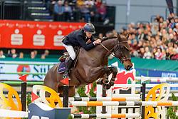 VERMEIR Wilm (BEL), Iq van het Steentje<br /> Leipzig - Partner Pferd 2020<br /> Longines FEI Jumping World Cup™ presented by Sparkasse<br /> Sparkassen Cup - Großer Preis von Leipzig FEI Jumping World Cup™ Wertungsprüfung <br /> Springprüfung mit Stechen, international<br /> Höhe: 1.55 m<br /> 19. Januar 2020<br /> © www.sportfotos-lafrentz.de/Stefan Lafrentz