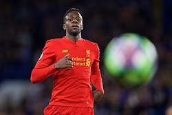 LONDON, ENGLAND - Friday, September 16, 2016: Liverpool's Divock Origi in action against Chelsea during the FA Premier League match at Stamford Bridge. (Pic by David Rawcliffe/Propaganda)