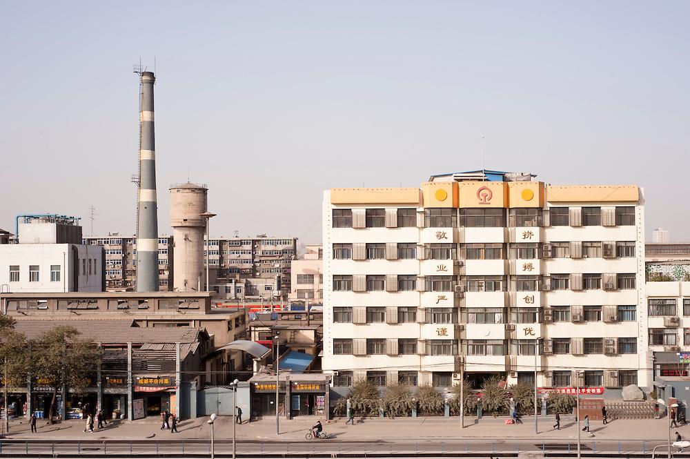 Street view of Xi'An, China