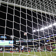 FOXBOROUGH, MASSACHUSETTS - JUNE 10: Arturo Vidal #8 of Chile scores the winning goal from the penalty spot in time added on beating goalkeeper Carlos Lampe #1 of Bolivia during the Chile Vs Bolivia Group D match of the Copa America Centenario USA 2016 Tournament at Gillette Stadium on June 10, 2016 in Foxborough, Massachusetts. (Photo by Tim Clayton/Corbis via Getty Images)