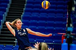 18-10-2018 JPN: World Championship Volleyball Women day 19, Yokohama<br /> Training day Netherlands in Yokohama Arena / Nicole Koolhaas #22 of Netherlands