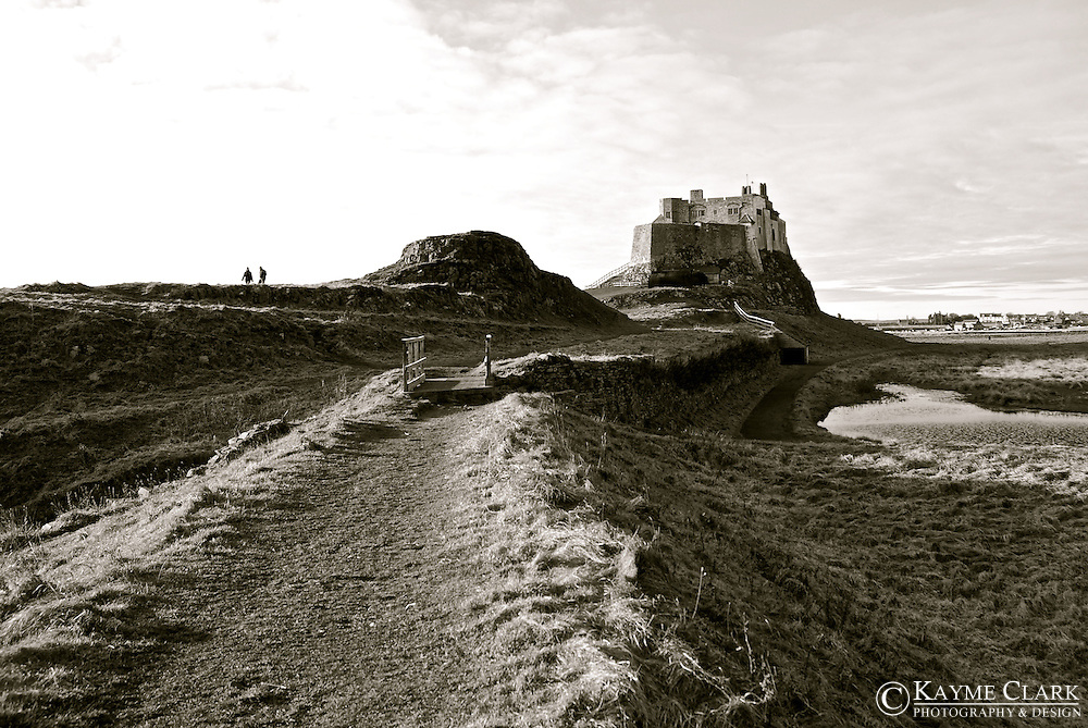 Lindisfarne Castle - Holy Island, Berwick-upon-Tweed, Northumberland, England