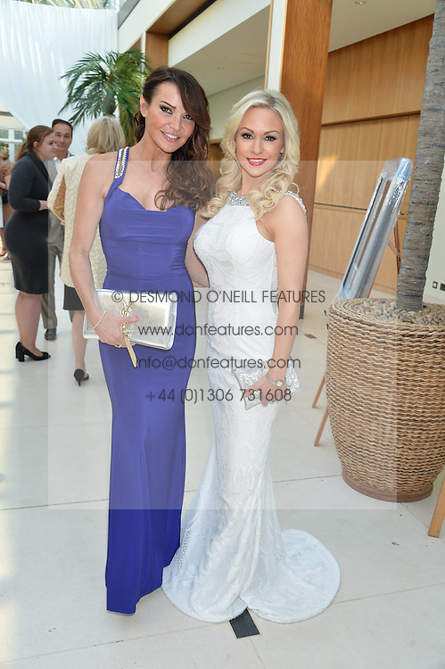 Left to right, LIZZIE CUNDY and KRISTINA RIHANOFF at the Ben Cohen Stand Up Foundation Gala evening at The Hurlingham Club, Ranelagh Gardens, London on 21st May 2015.
