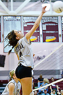 05 September 2009: #4 Chelsea MacDonald of the Genoa Comets during the Prep volleyball game between Genoa Comets and Northwood Rangers at Genoa High School Genoa, Ohio.