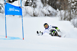 Downhill, PENDERGAST Victoria, LW12-1, AUS at the WPAS_2019 Alpine Skiing World Championships, Kranjska Gora, Slovenia