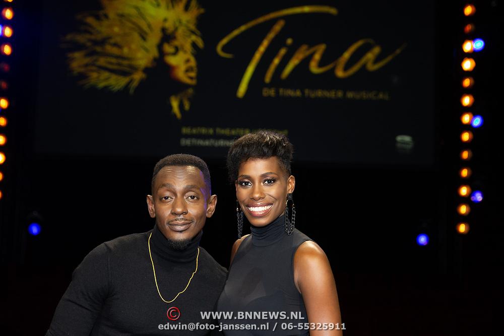 NLD/Utrecht/20191021 - Castpresentatie Tina Turner Musical, Nyassa Alberta en Juneoer Mers