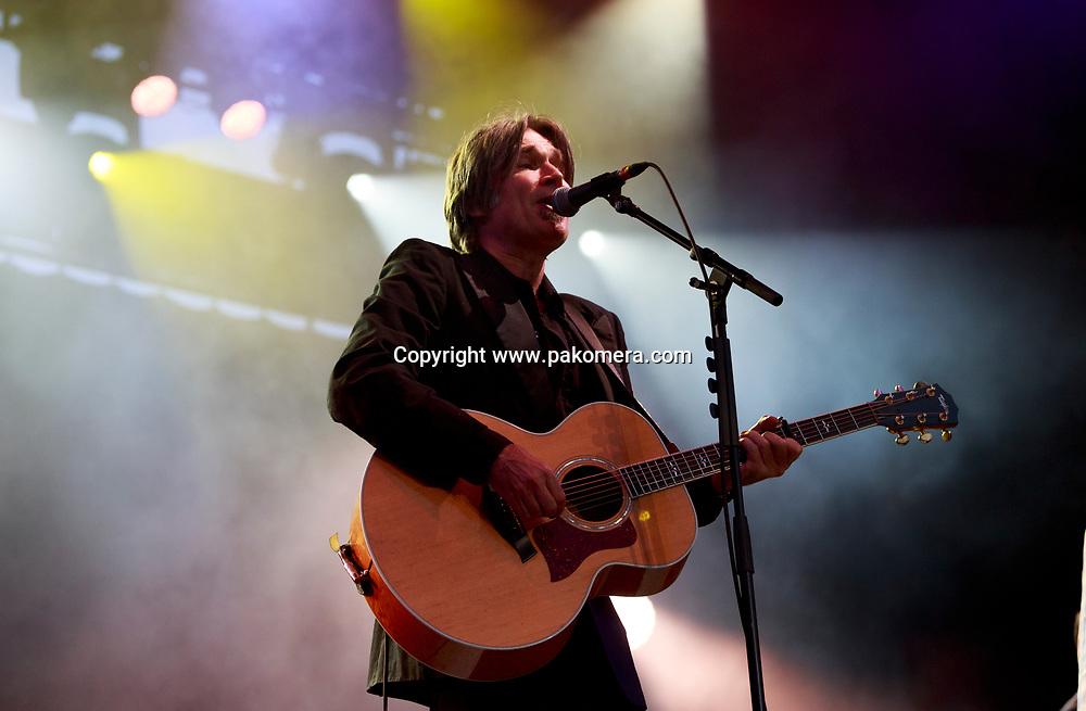 Edinburgh, Scotland. UK. 21 July. Del Amitri perform on stage in the Edinburgh Castle's Esplanade on 19 July 2018. Photo: Pako Mera/Alamy Live News.