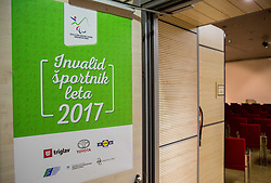 Slovenian Disabled Sports personality of the year 2017 event, on December 6, 2017 in Austria Trend Hotel, Ljubljana, Slovenia. Photo by Vid Ponikvar / Sportida