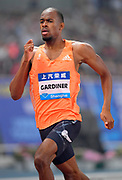 Steven Gardiner (BAH) wins the 400m in 43.99 during the IAAF Diamond League Shanghai 2018 in Shanghai, China, Saturday, May 12, 2018. (Jiro Mochizukii/Image of Sport)