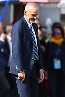 Stefano Pioli delusione dejection<br /> Crotone 09-04-2017, Stadio Stadio Ezio Scida, Football Calcio 2016/2017 Serie A, Crotone - Inter, Foto Image Sport/Insidefoto