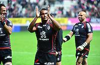 Joie Thierry DUSAUTOIR - 24.04.2015 - Stade Francais / Stade Toulousain - 23eme journee de Top 14<br />Photo : Dave Winter / Icon Sport