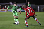 Forest Green Rovers Dan Jones  during the EFL Trophy match between Forest Green Rovers and U21 Southampton at the New Lawn, Forest Green, United Kingdom on 3 September 2019.