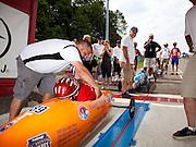 The 77th All American Soap Box Derby in Akron Ohio
