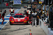 September 19, 2015: Tudor at Circuit of the Americas. #31 Curran, Cameron, Action Express Racing DP pitstop
