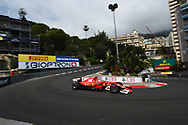 Sebastian Vettel of Scuderia Ferrari  during the practice session for the 2017 Monaco Formula One Grand Prix at the Circuit de Monaco, Monte Carlo<br /> Picture by EXPA Pictures/Focus Images Ltd 07814482222<br /> 25/05/2017<br /> *** UK &amp; IRELAND ONLY ***<br /> <br /> EXPA-EIB-170525-0128.jpg