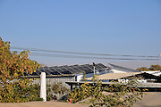Solar collector electricity converter Photographed at Faran in the Arava desert, Israel