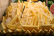 Belo Horizonte_MG, Brasil...Detalhe de abacaxi no Mercado Central...Detail of pineapples in Mercado Central...Foto: LEO DRUMOND / NITRO