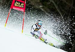 "Ricarda Haaser (AUT) competes during 1st Run of the FIS Alpine Ski World Cup 2017/18 5th Ladies' Giant Slalom race named ""Golden Fox 2018"", on January 6, 2018 in Podkoren, Kranjska Gora, Slovenia. Photo by Ziga Zupan / Sportida"