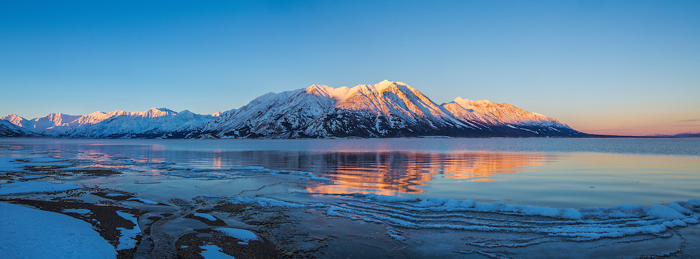 Kluane Lake Sunrise