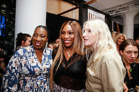 Tarana Burke and Serena Williams backstage during Klarna STYLE360 NYFW Hosts S by Serena Fashion Show