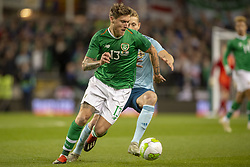 November 15, 2018 - Dublin, Ireland - Jeff Hendrick of Ireland during the International Friendly match between Republic of Ireland and Northern Ireland at Aviva Stadium in Dublin, Ireland on November 15, 2018  (Credit Image: © Andrew Surma/NurPhoto via ZUMA Press)