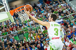 Goran Dragic of Slovenia during qualifying match between Slovenia and Kosovo for European basketball championship 2017,  Arena Stozice, Ljubljana on 31th August, Slovenia. Photo by Grega Valancic / Sportida