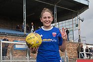 06/10/2017 - Forfar Farmington v Motherwell Ladies in SWPL2 at Station Park, Forfar: Striker Danni McGinley scored a hat-trick as Forfar Farmington beat closest rivals Motherwell Ladies 5-1 to clinch promotion and the SWPL2 championship
