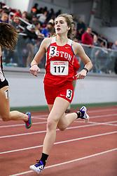 800, heat 8, Forbes, Boston U<br /> BU Terrier Indoor track meet