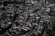 Nederland, Utrecht, Utrecht, 23-06-2010; centrum Utrecht met de Dom (Domtoren en Domkerk). Verder in beeld Buurkerk, Hoog Catherijne, Stadhuis, Neude, Pieterskerk.luchtfoto (toeslag), aerial photo (additional fee required).foto/photo Siebe Swart