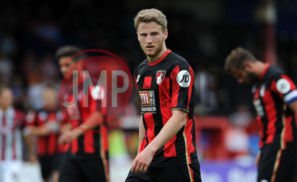 Bournemouth's Eunan O'Kane  - Photo mandatory by-line: Harry Trump/JMP - Mobile: 07966 386802 - 18/07/15 - SPORT - FOOTBALL - Pre Season Fixture - Exeter City v Bournemouth - St James Park, Exeter, England.