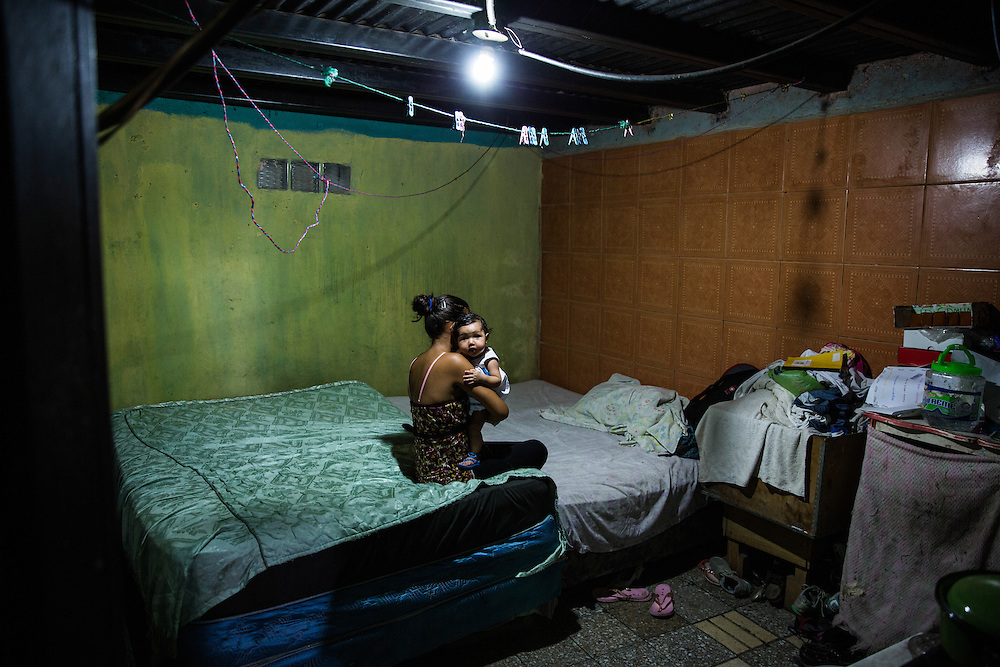 Tegucigalpa, Honduras<br /> Dana is 13 years old. She was raped by her father and the result is a daughter. In Honduras teenage mothers is very common. 50 000 girls under 18 years is pregnant every year, 50 percent of these is a result of rape. Dana lives in the slum and her dream is the become an architect. <br /> <br /> Photo: Niclas Hammarstr&ouml;m