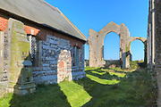 St Andrew's Church, Covehithe, Suffolk, England, UK