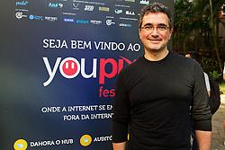 Renê de Paula Jr, palestrante do youPIX, no auditório da ESPM, em Porto Alegre. FOTO: Emmanuel Denaui/Preview.com