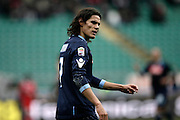 Bari (BA), 23-01-2011 ITALY - Italian Soccer Championship Day 21 - Bari VS Napoli..Pictured: Cavani (N)..Photo by Giovanni Marino/OTNPhotos . Obligatory Credit