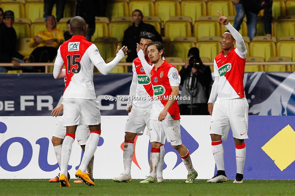 Joie Monaco - Anthony Martial - 21.01.2015 - Monaco / Evian Thonon - Coupe de France <br />Photo : Sebastien Nogier / Icon Sport