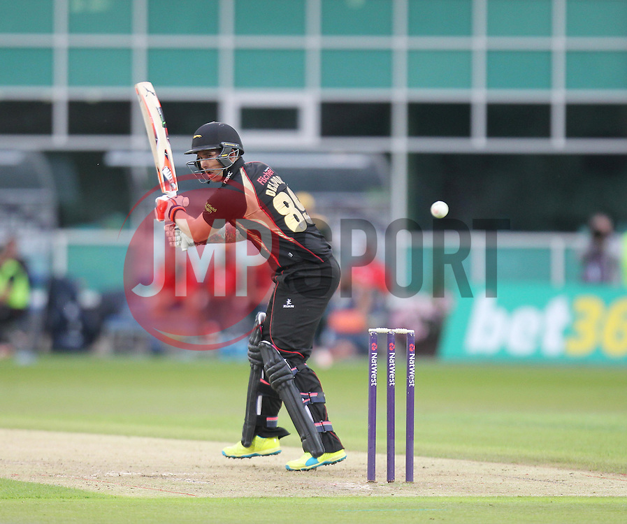 Cameron Delport of Leicestershire Foxes in action - Mandatory by-line: Jack Phillips/JMP - 29/07/2016 - CRICKET - Trent Bridge - Nottingham, United Kingdom - Nottingham Outlaws v Leicester Foxes - Natwest T20 Blast