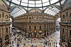 Milan: Galleria Vittorio Emanuele II