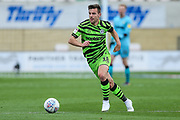 Forest Green Rovers Kevin Dawson(18) runs forward during the EFL Sky Bet League 2 match between Cambridge United and Forest Green Rovers at the Cambs Glass Stadium, Cambridge, England on 7 September 2019.