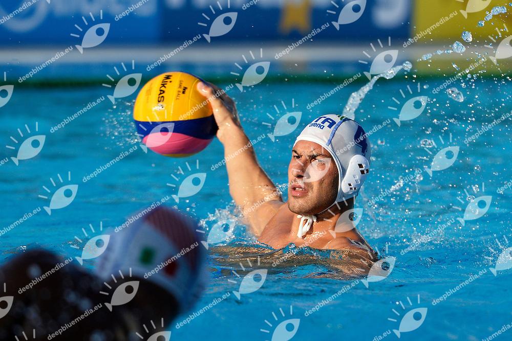 Pietro Figlioli Italia <br /> Water Polo Italy Vs Roumania - Pallanuoto Italia Vs Romania <br /> Barcellona 22/7/2013 Piscina Picornell <br /> Barcelona 2013 15 Fina World Championships Aquatics <br /> Foto Andrea Staccioli Insidefoto