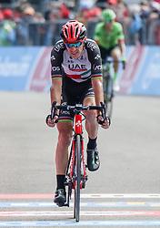 26.05.2017, Piancavallo, ITA, Giro d Italia 2017, 19. Etappe, Innichen (San Candido) nach Piancavallo, im Bild der Zweitplatzierte Rui Costa (POR, Team UAE - Emirates) // 2nd placed Rui Costa (POR, Team UAE - Emirates) during the 19 th stage of the 100 th Giro d Italia cycling race from Innichen (San Candido) to Piancavallo, Italy on 2017/05/26. EXPA Pictures © 2017, PhotoCredit: EXPA / Martin Huber