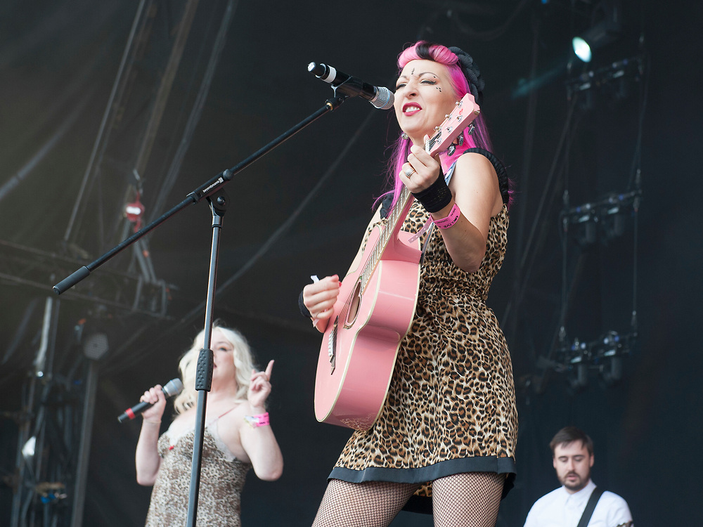 Fuzzbox in concert at Lets Rock Scotland, Dalkeith Country Park, Edinburgh, Great Britain 23rd June 2018