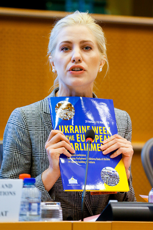 Ukraine Week at the European Parliament - High-level conference EP - Verkhovna RADA of Ukraine on capacity building for reform.<br /> <br /> High-level discussion - Openness, transparency and accountability: the representation role of a Parliament