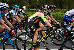Chloe Hosking (AUS) in the bunch at GREE Tour of Guangxi Women's WorldTour 2019 a 145.8 km road race in Guilin, China on October 22, 2019. Photo by Sean Robinson/velofocus.com