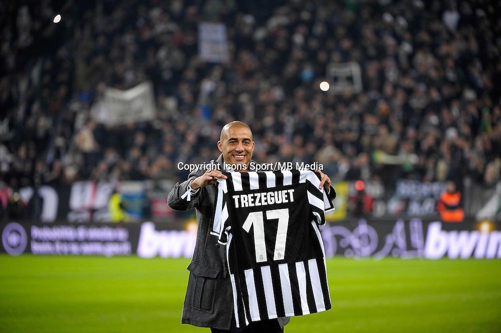 David Trezeguet - 05.01.2014 - Juventus Turin / AS Roma - 18eme journee de Serie A<br /> Photo : Tardito / Aldo Liverani / Icon Sport